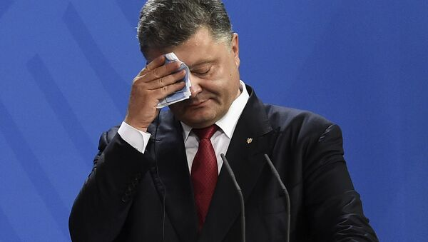 Petró Poroshenko, presidente ucraniano - Sputnik Mundo