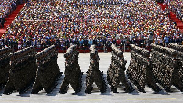 Desfile militar en China - Sputnik Mundo