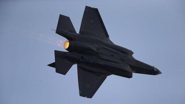 Caza F-35 de Israel - Sputnik Mundo