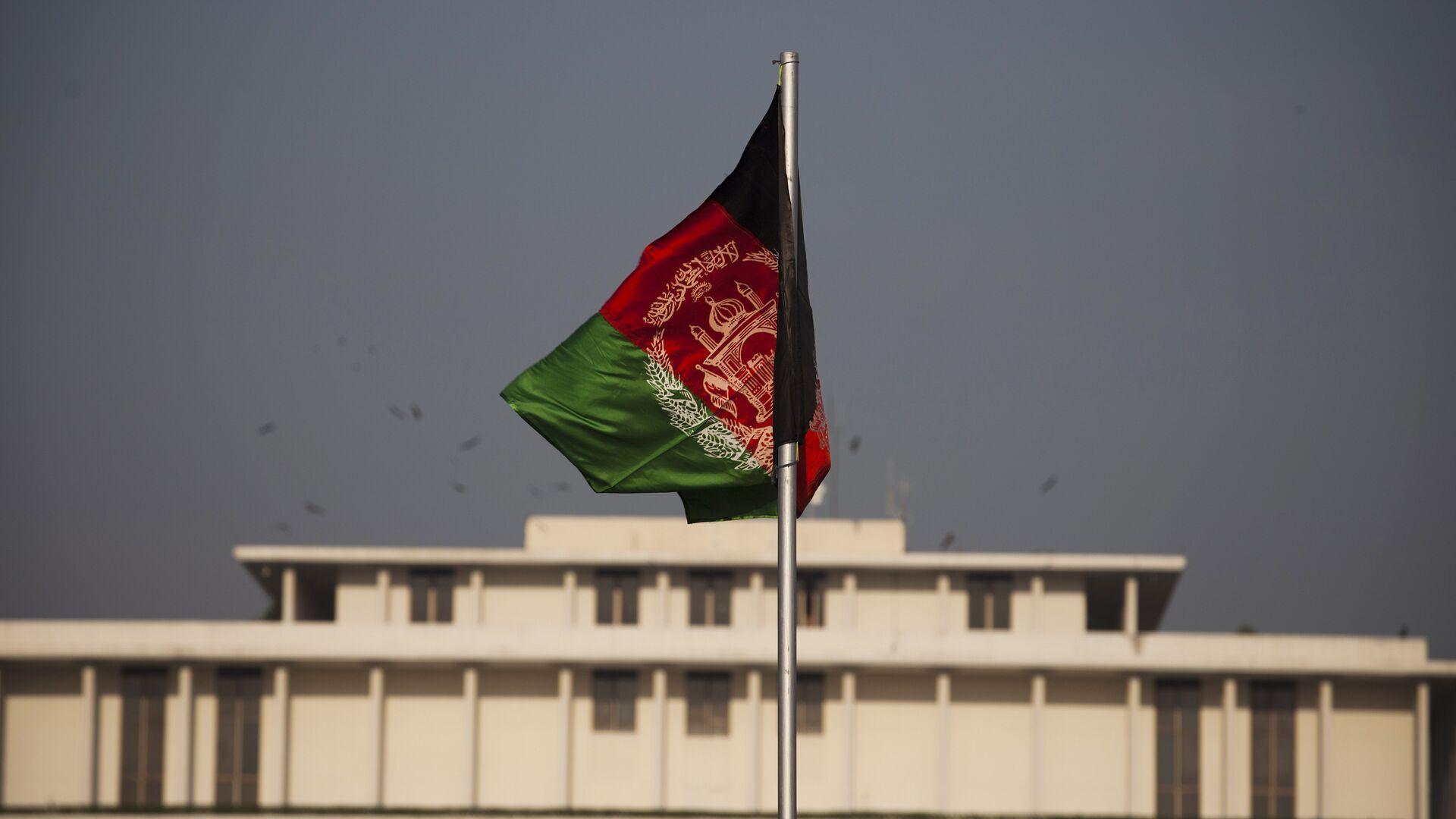 Bandera de Afganistán - Sputnik Mundo, 1920, 08.10.2021