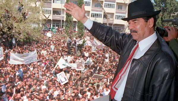 Sadam Husein, exlíder iraquí - Sputnik Mundo