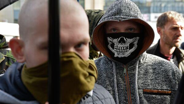 Radicales ucranianos, foto de archivo - Sputnik Mundo