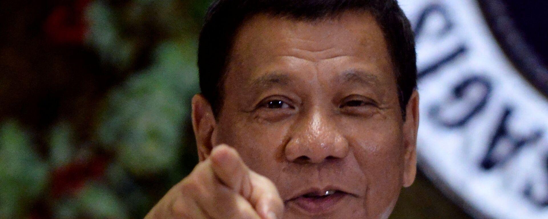 Rodrigo Duterte, presidente de Filipinas - Sputnik Mundo, 1920, 31.07.2020