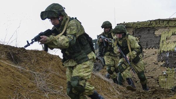Ejercicios militares de las tropas aerotransportadas de Rusia - Sputnik Mundo