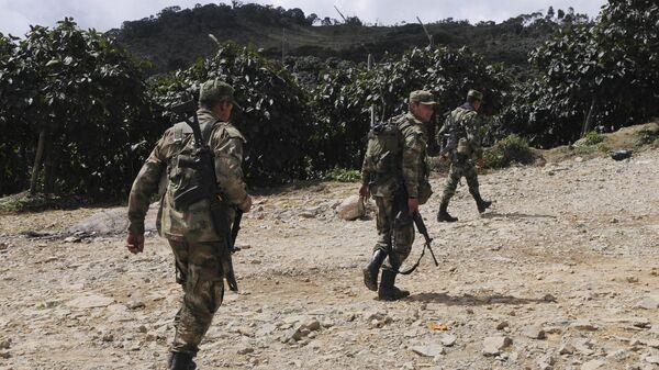 Militares colombianos (archivo) - Sputnik Mundo