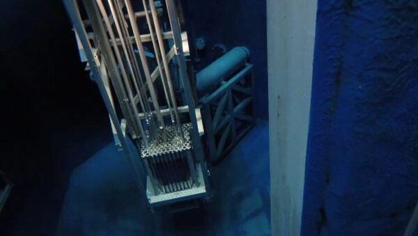 Breazeale Nuclear Reactor Start up, 500kW, 1MW, and Shut Down - Sputnik Mundo