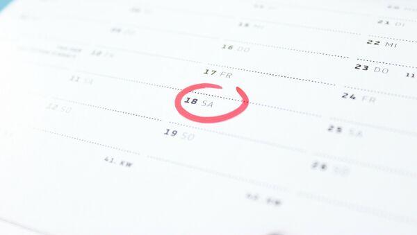 Calendario - Sputnik Mundo