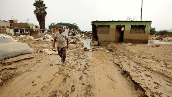 Aluviones en Perú (Archivo) - Sputnik Mundo