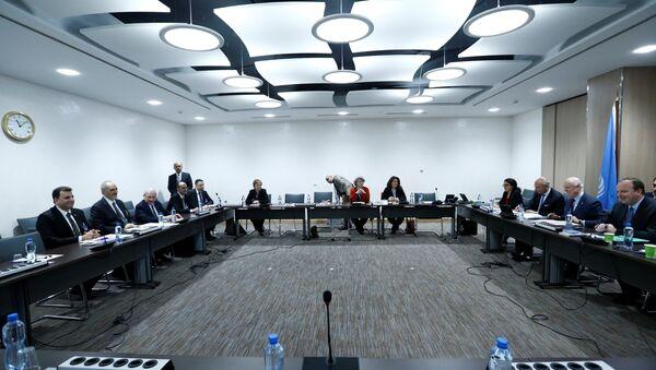 Quinta ronda de negociaciones intersirias en Ginebra - Sputnik Mundo