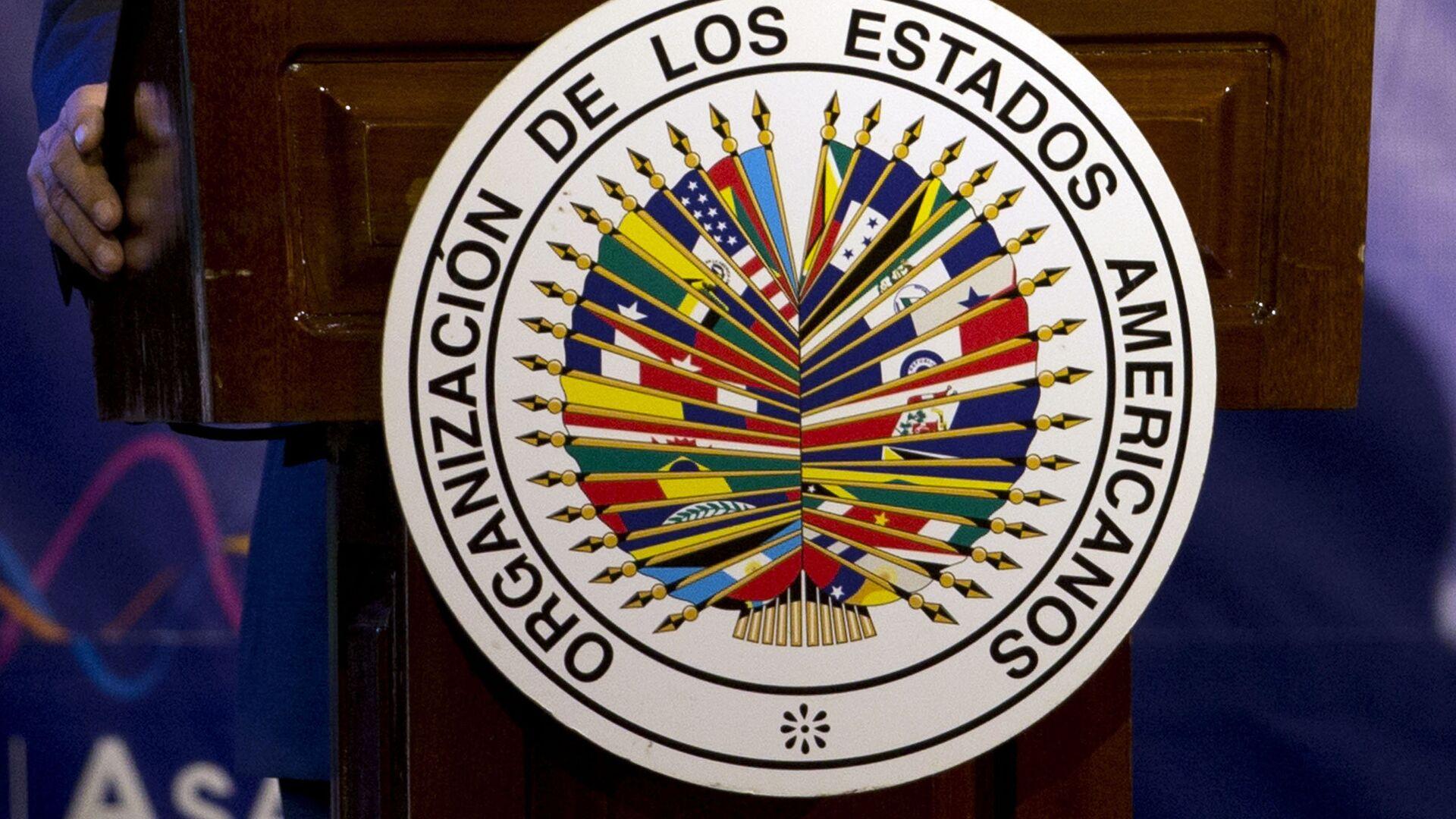 Logo de OEA - Sputnik Mundo, 1920, 28.07.2021