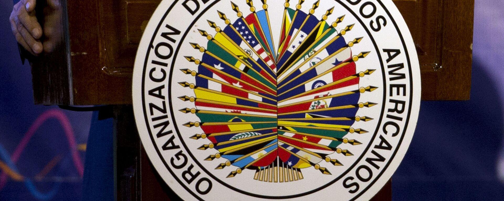 Logo de OEA - Sputnik Mundo, 1920, 17.03.2021