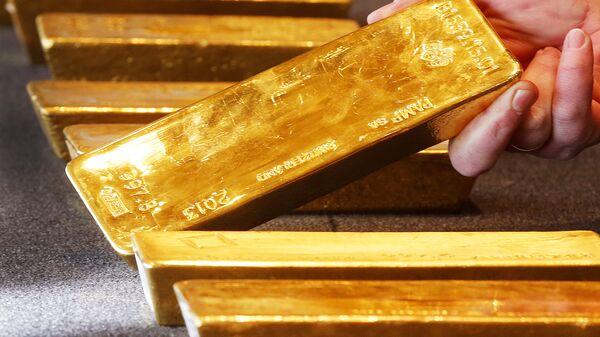 Lingotes de oro - Sputnik Mundo