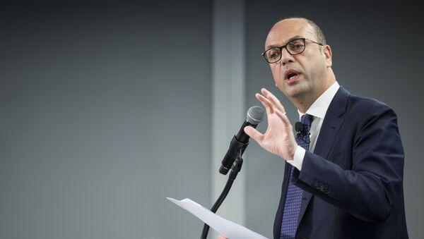 Angelino Alfano, ministro de Exteriores y Cooperación Internacional de Italia - Sputnik Mundo