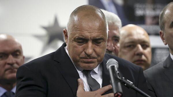 Boyko Borísov, ex primer ministro de Bulgaria - Sputnik Mundo