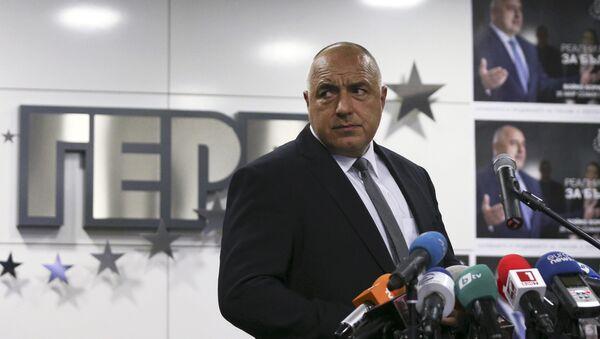 Boiko Borísov, líder del partido GERB - Sputnik Mundo