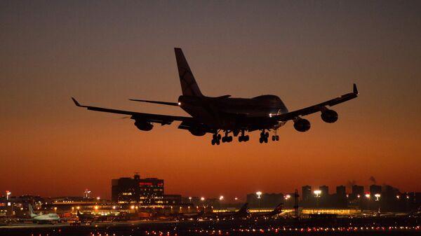 Un Boeing 747 - Sputnik Mundo