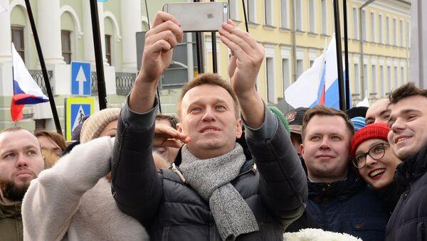 Марш памяти Бориса Немцова - Sputnik Mundo