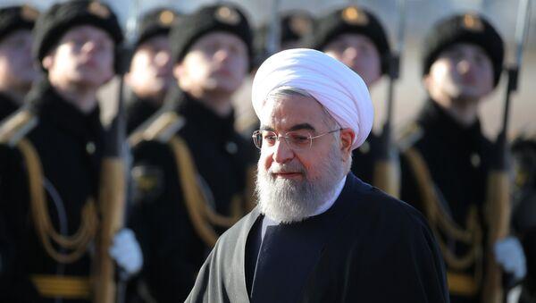 El presidente iraní, Hasán Rohani - Sputnik Mundo