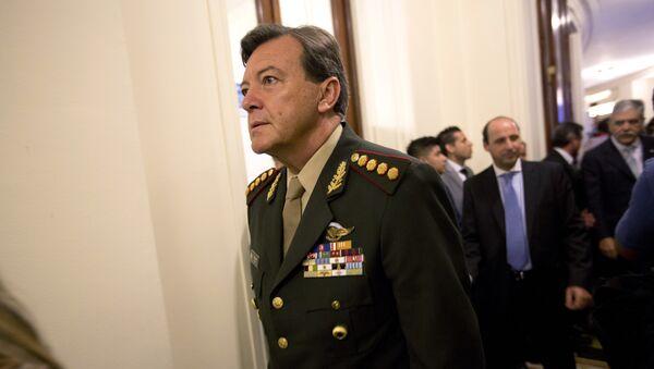 César Milani, exjefe del Ejército argentino (archivo) - Sputnik Mundo