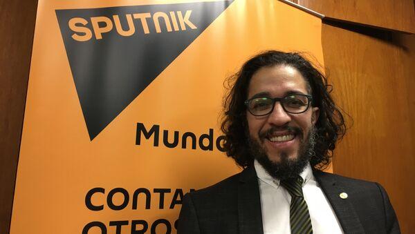 El diputado del Parlamento del Mercosur y del Congreso de Brasil Jean Wyllys visita los estudios de Sputnik - Sputnik Mundo