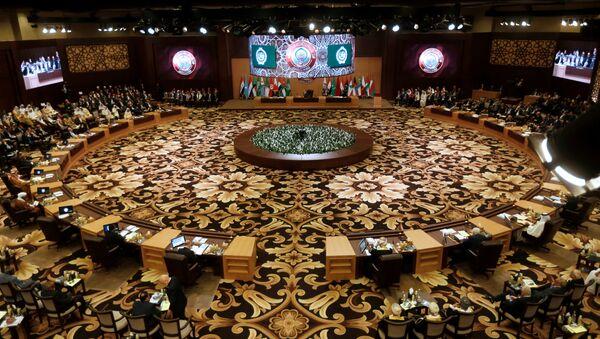Reunión de la Liga Árabe (Archivo) - Sputnik Mundo