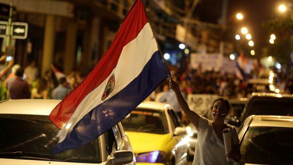 Protesta en Paraguay - Sputnik Mundo