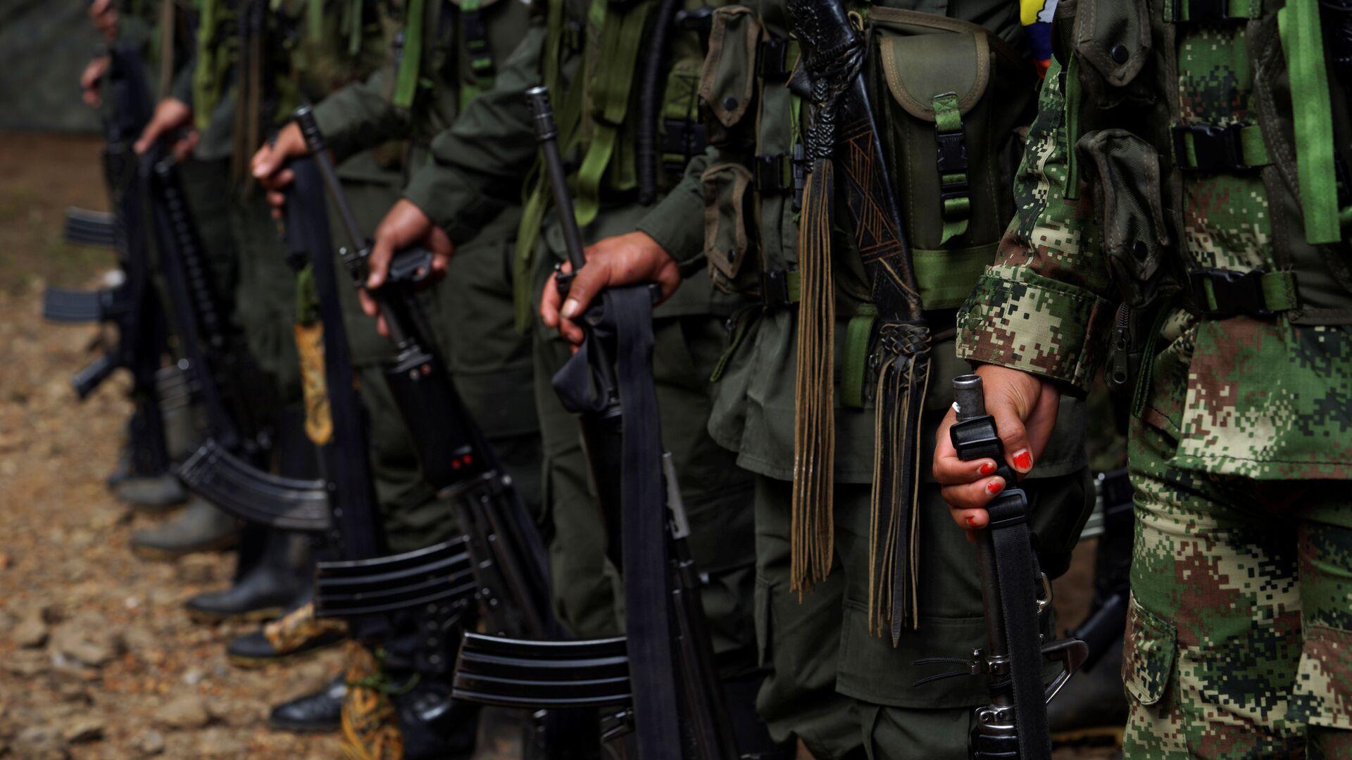 Los miembros de las antiguas FARC (archivo) - Sputnik Mundo, 1920, 06.09.2021