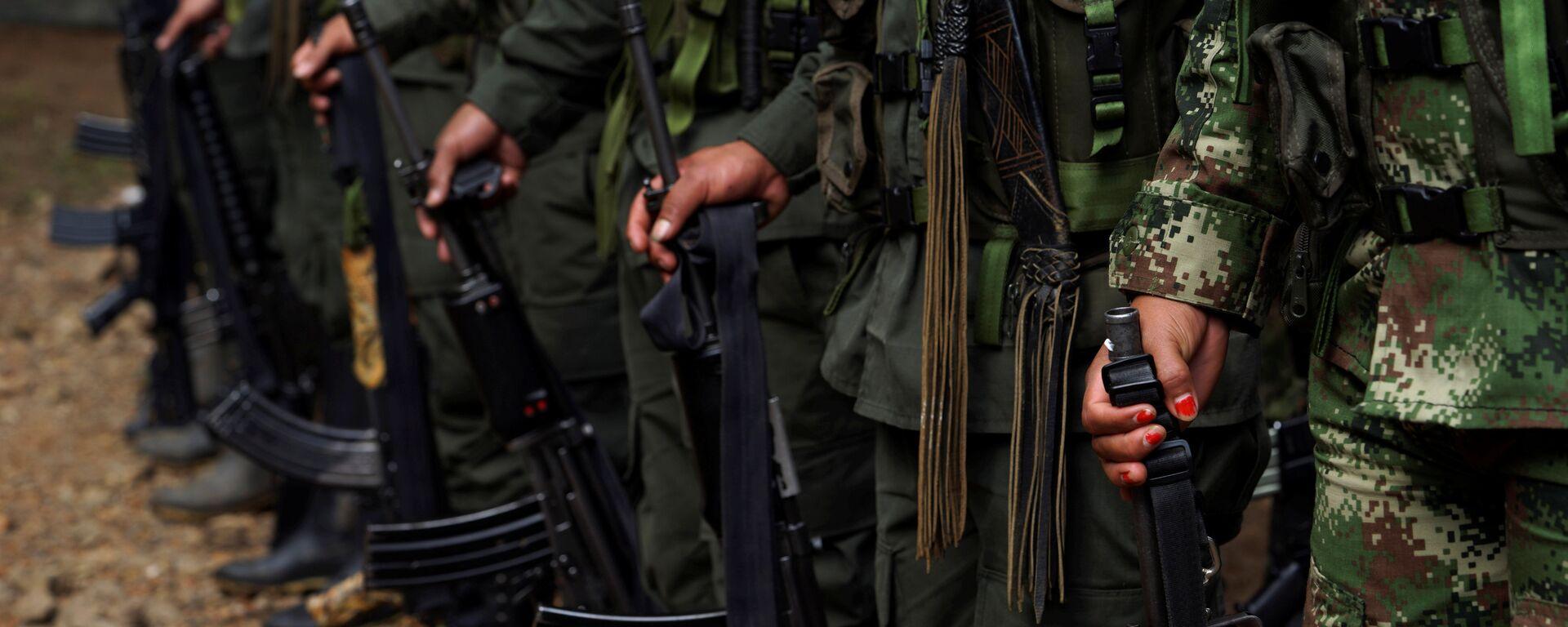 Los miembros de las antiguas FARC (archivo) - Sputnik Mundo, 1920, 20.08.2021