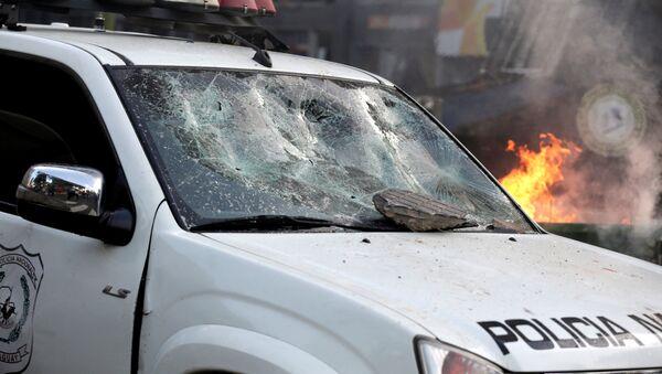 Manifestación violenta en Paraguay - Sputnik Mundo