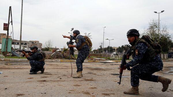 La policía federal de Irak - Sputnik Mundo