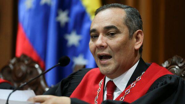 Maikel Moreno, presidente del Tribunal Supremo de Venezuela - Sputnik Mundo