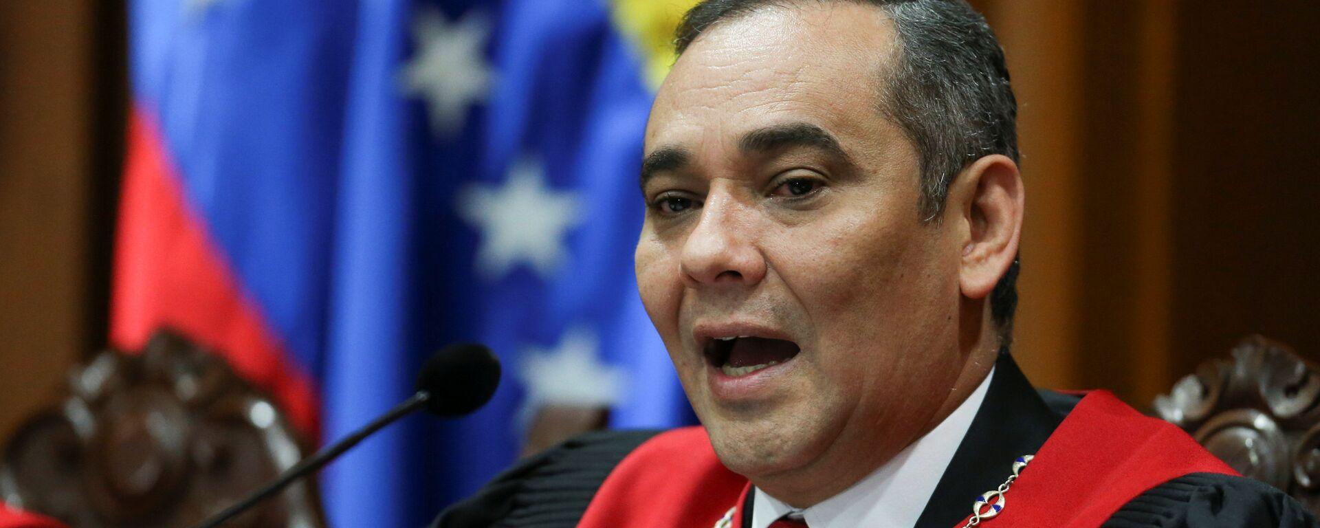 Maikel Moreno, presidente del Tribunal Supremo de Venezuela - Sputnik Mundo, 1920, 27.07.2021