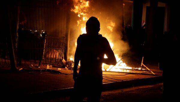 Protestas en Paraguay, 31 de marzo de 2017 - Sputnik Mundo
