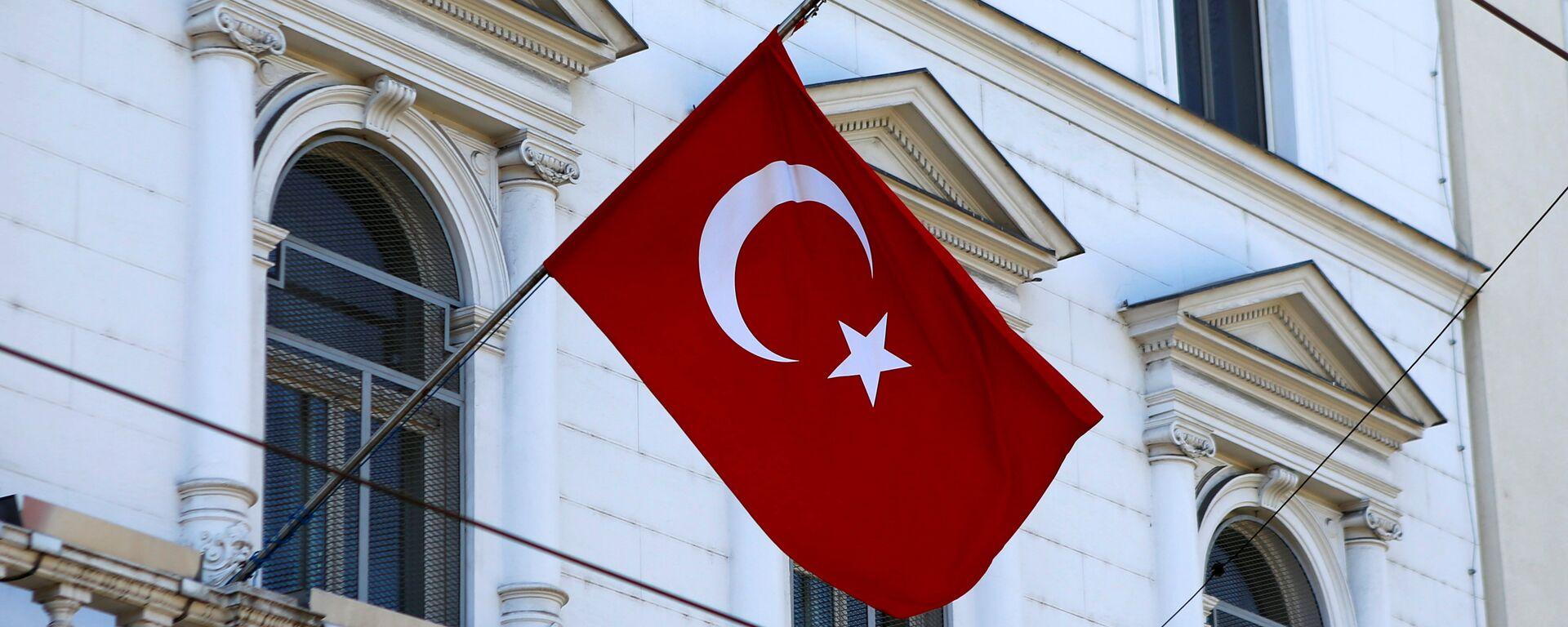 La bandera de Turquía - Sputnik Mundo, 1920, 23.03.2021