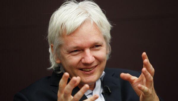 El fundador de WikiLeaks Julian Assange - Sputnik Mundo