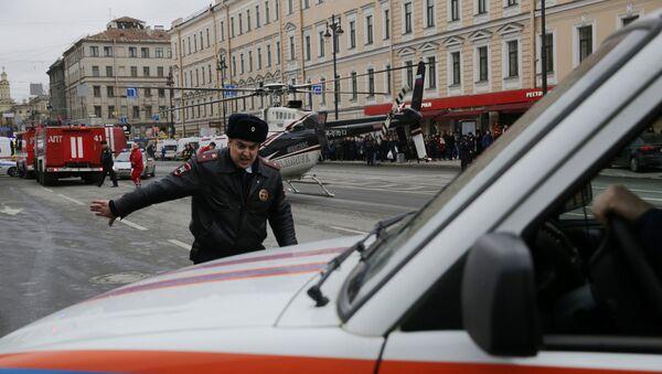Situación en San Petersburgo tras explosión - Sputnik Mundo
