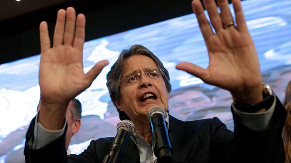 Guillermo Lasso, principal representante de la oposición ecuatoriana - Sputnik Mundo