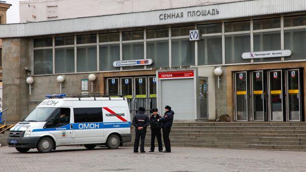 Взрыв в метро в Санкт-Петербурге - Sputnik Mundo