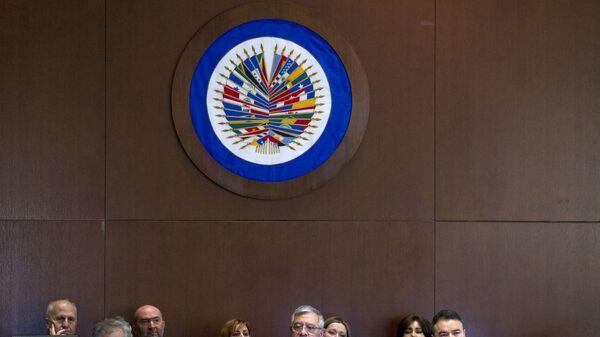 Logo de OEA - Sputnik Mundo