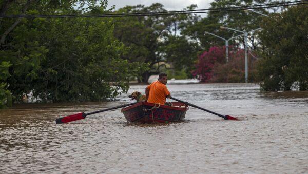 Inundaciones en Argentina (archivo) - Sputnik Mundo
