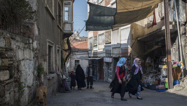 Refugiados sirios - Sputnik Mundo