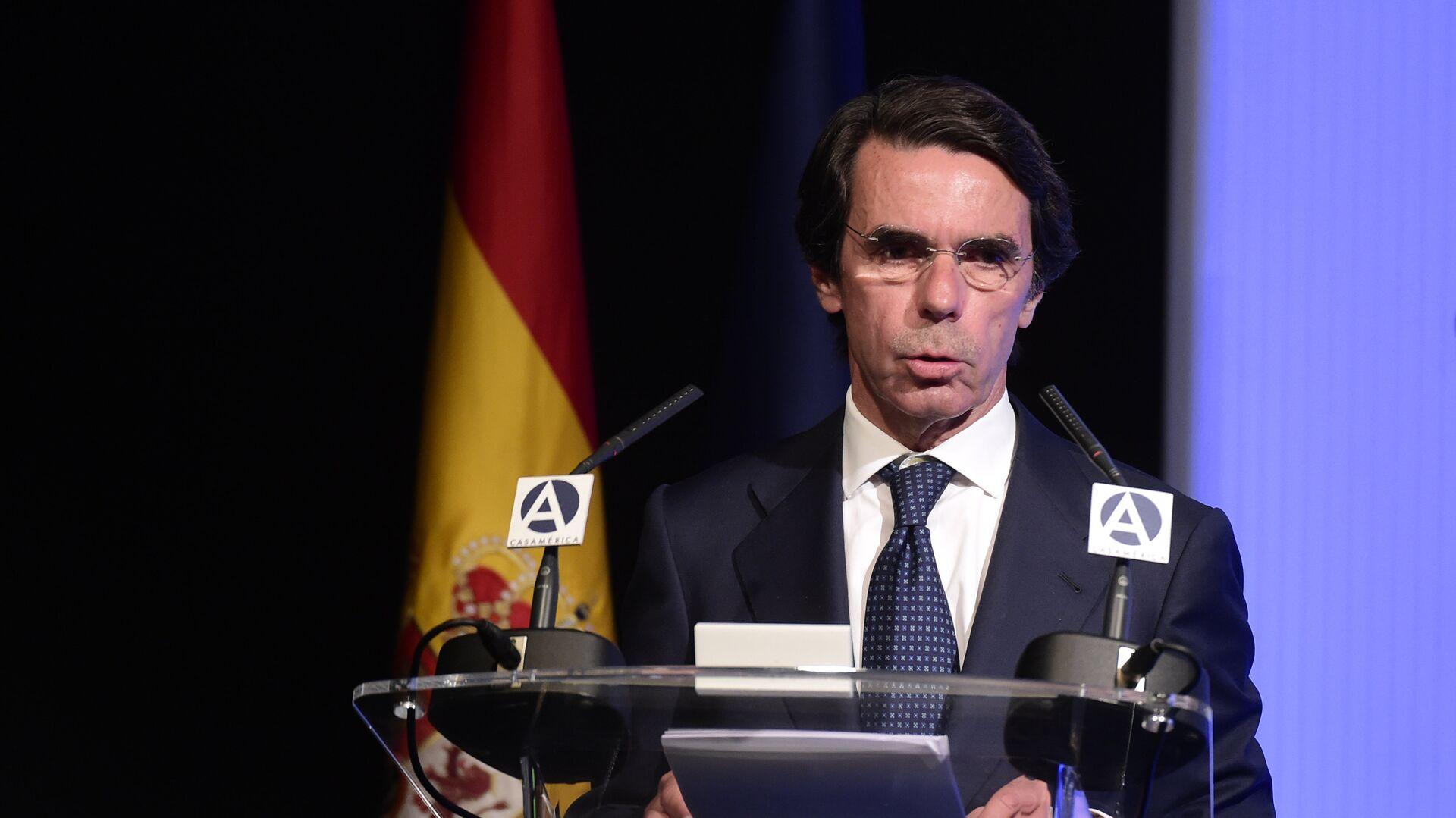 Jose María Aznar, expresidente de España - Sputnik Mundo, 1920, 30.09.2021