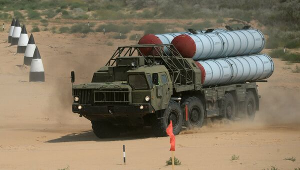 Sistema de misiles antiaéreos S-300PS (imagen referencial) - Sputnik Mundo
