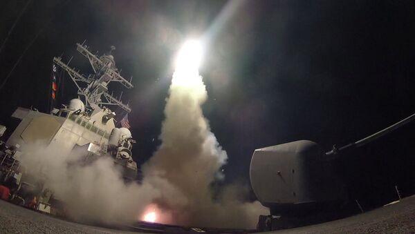Ataque de EEUU contra Siria - Sputnik Mundo