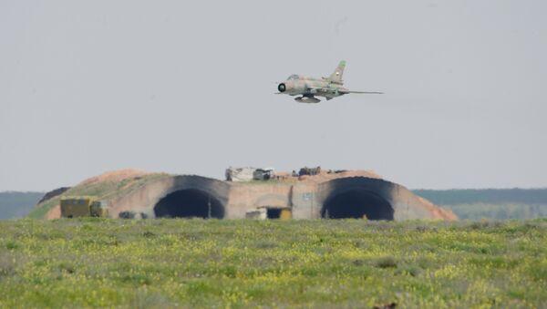 Base aérea en Siria (imagen referencial) - Sputnik Mundo