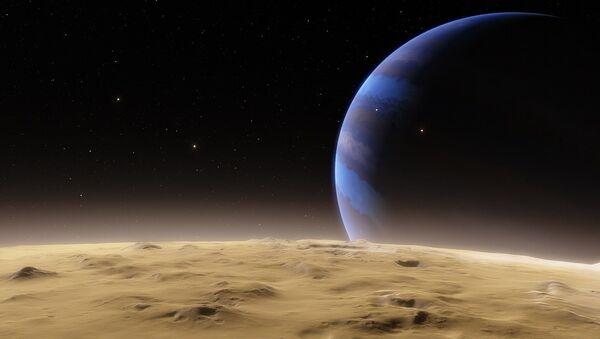 Un planeta en el espacio (ilustración) - Sputnik Mundo