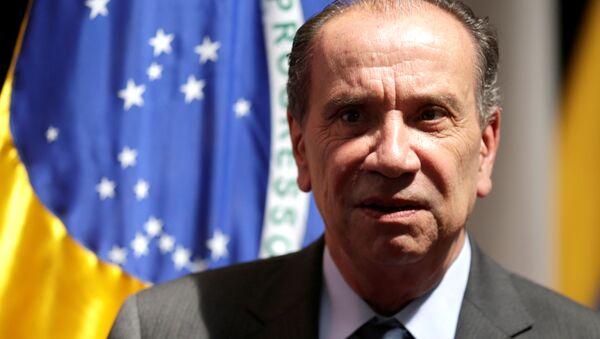 Aloysio Nunes, ministro de Relaciones Exteriores de Brasil (archivo) - Sputnik Mundo