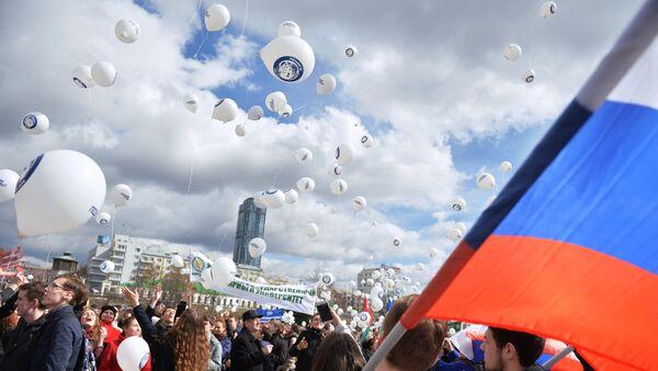 Celebraciones del Día de la Cosmonáutica en Rusia (archivo) - Sputnik Mundo