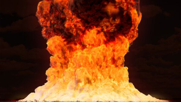 Una explosión nuclear (imagen ilustrativa) - Sputnik Mundo