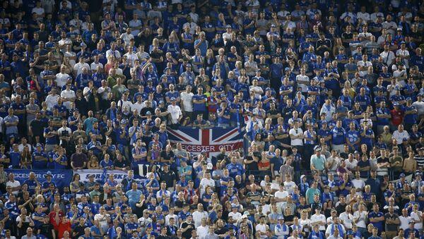 Hinchas del Leicester City - Sputnik Mundo